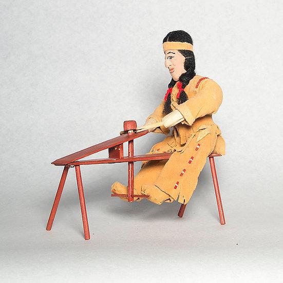 Cornhusk Doll Carving Wood (86:55)
