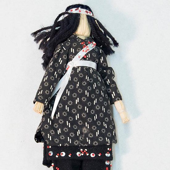 Traditional Cornhusk Doll  (87:193)