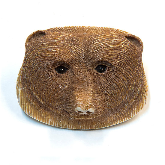 Bear Head Belt Buckle (86:12)