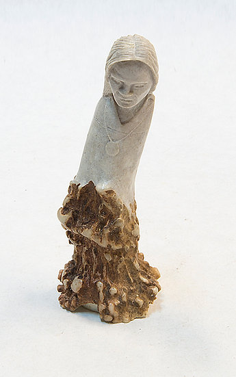 Antler Carving of a Woman (96:105)