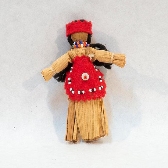 Standing Female Cornhusk Doll (16:22)
