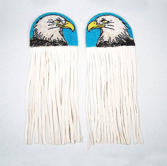Beaded Eagle Hair Ties (87:248)