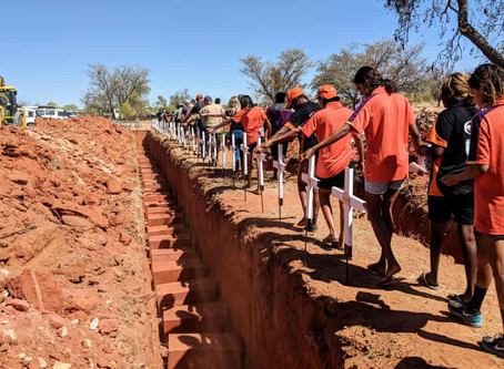 Remains of more than 60 Aboriginal people reburied after Kimberley floods