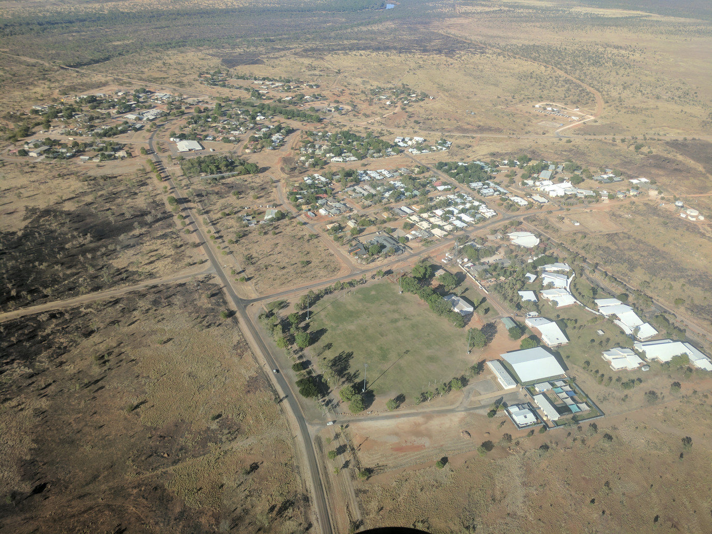 Fitzroy Crossing from Above