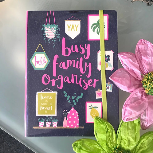 Busy Family Organiser Stationery Gift Shop Hinckley