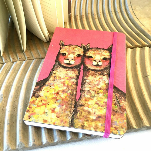 Pink Alpaca Notebook Deconstructed Stationery