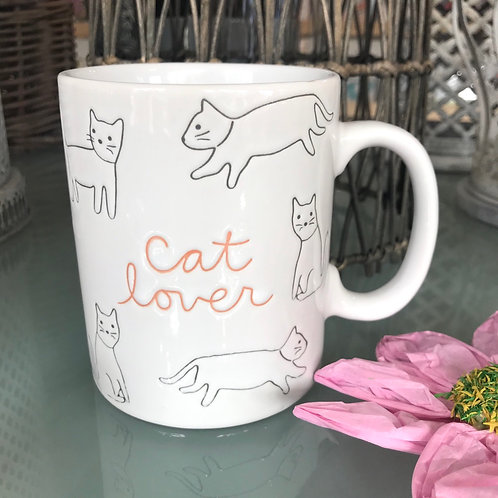 Cat Lover Mug Tea Coffee Gift Cute Shop Hinckley