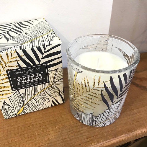 Grapefruit and Lemongrass Scented Candle