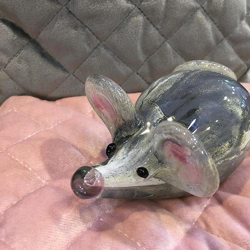 Mavis The Gorgeous Glass Mouse