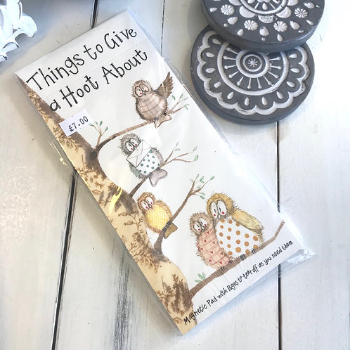 Things to Give a Hoot About Magnetic Pad