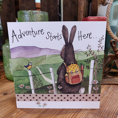 Occasions Greeting Card Alex Clark Adventure