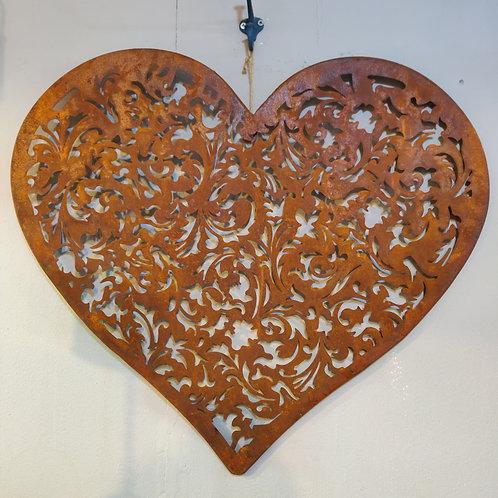 Filigree Heart Wall Art