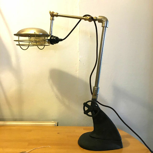 Industrial Desk Lamp Home Decor Rustic Interior Design
