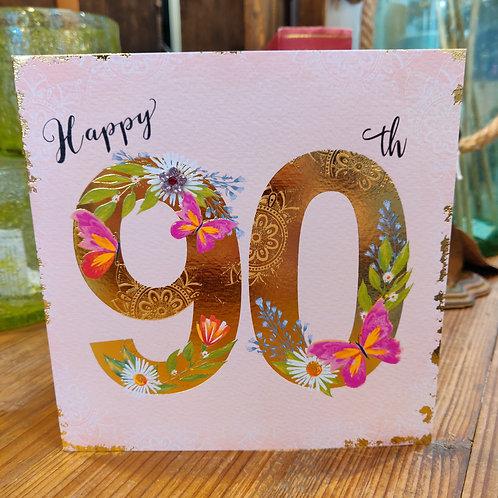 Rachel Ellen Greeting Card Birthday Age 90