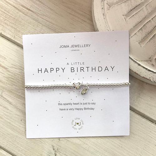 Happy Birthday Joma Jewellery Bracelet