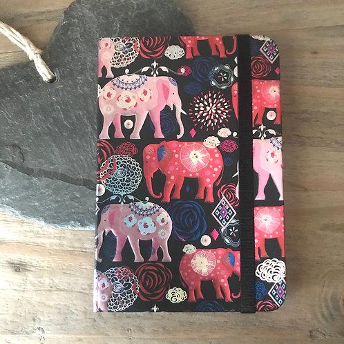 Embossed Elephant Notebook