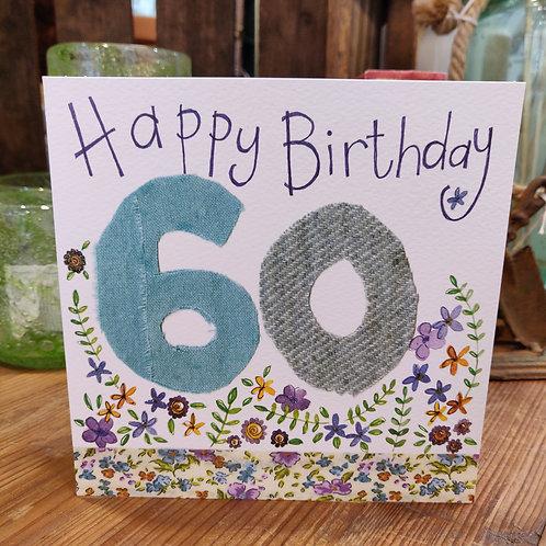 Age Birthday Greeting Card Alex Clark 60