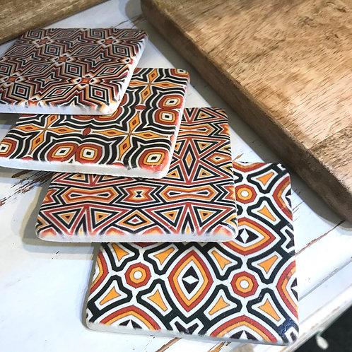 Tribal Coasters