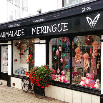 Marmalade Meringue Jellycat Window Display