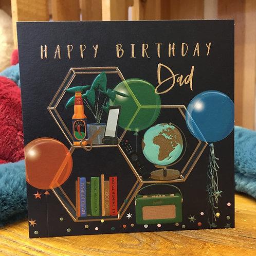 Happy Birthday Dad Greeting Card Gift Shop Hinckley