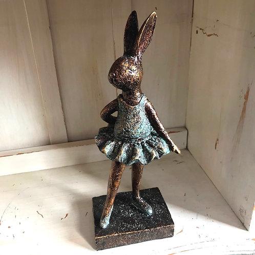 Ballerina Bunny Bella Tutu Dancer Ornament