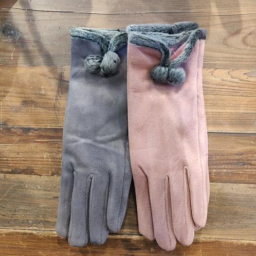 Double Pom Gloves