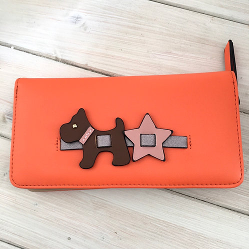 Orange Scottie Dog Purse