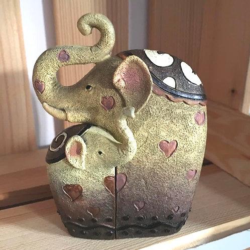 Trunks Up Elephants