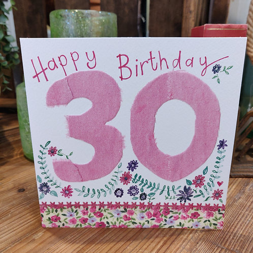 Age Birthday Greeting Card Alex Clark 30