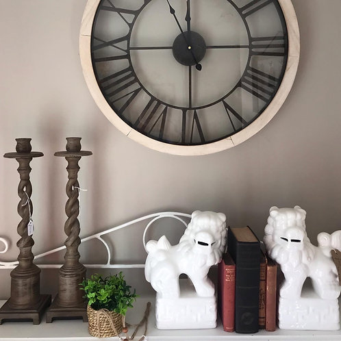 Glass Fronted Bistro Clock