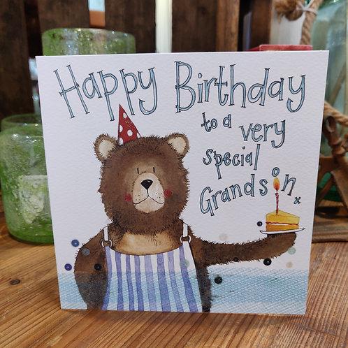 Relations Birthday Greeting Card Alex Clark Grandson