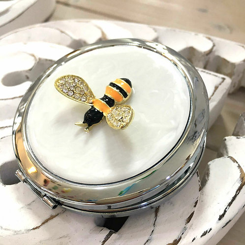 Bumblebee Compact Mirror Beauty Gift for Her