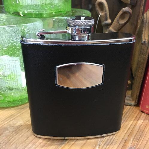 Gentleman's Black Hip Flask