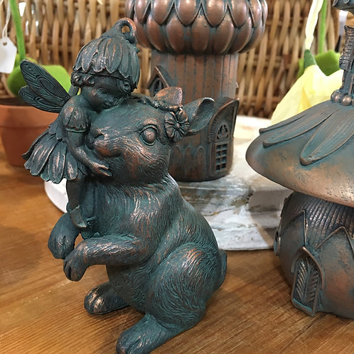 Fairy riding a rabbit Gift Shop Hinckley Magical Cute