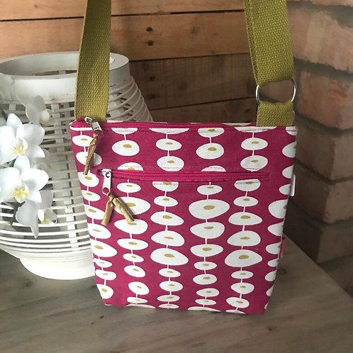 Pink Spot Messenger Bag