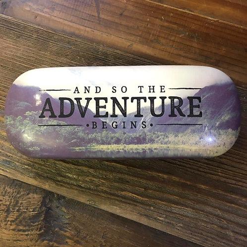 Adventure Begins Glasses Case