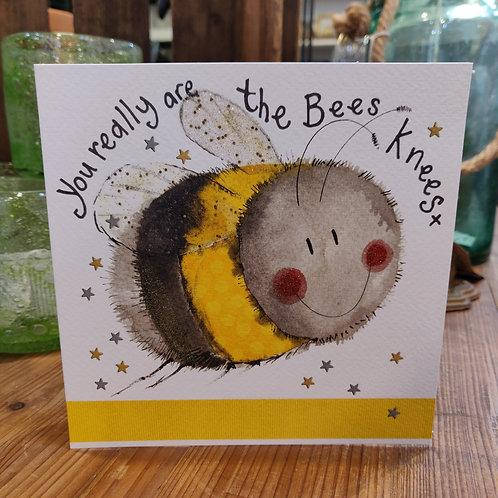Alex Clark Valentines Day Card Bee