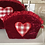 Thumbnail: Gingham Heart Cosmetic Bags