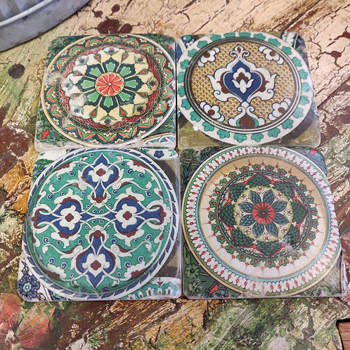Set of 4 Tile Coasters