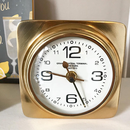 Gold Grand Central Clock