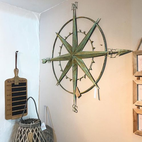 Large Wall Compass