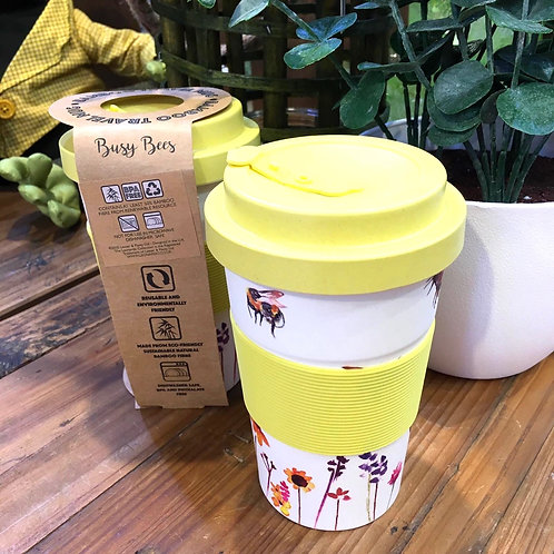 Busy Bees Reusable Coffee Cup