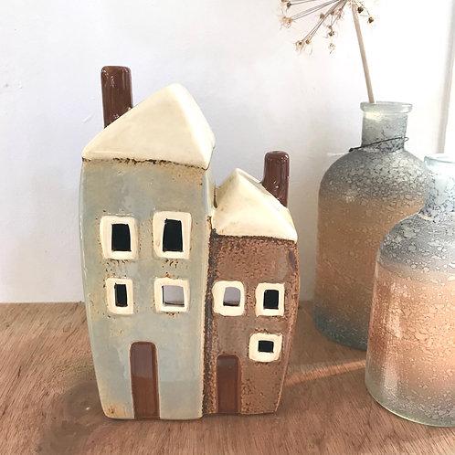 Double House T-light House