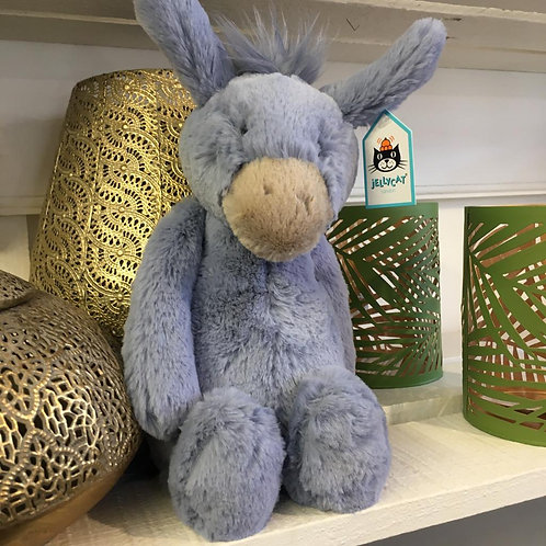 Jellycat Bashful Donkey Children Baby Cute Gift Shop Hinckley