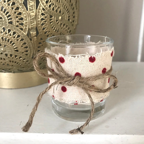 Cute Spotty Candle Holder