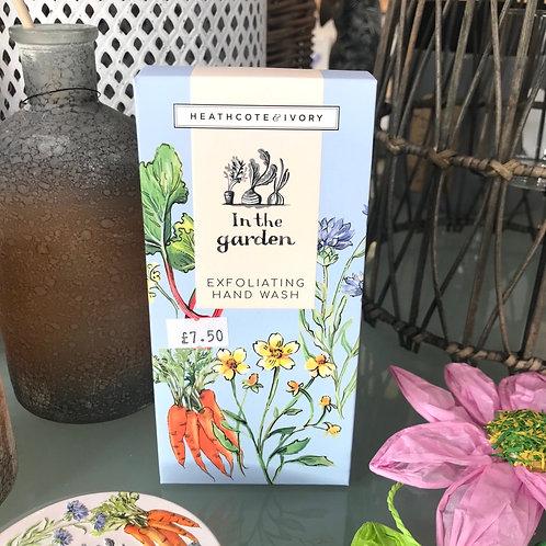In The Garden Exfoliating Hand Cream Gift Shop Hinckley