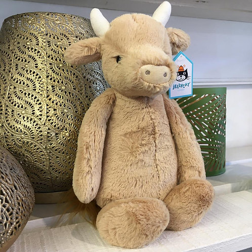 Jellycat Bashful Cow Children Baby Cute Gift Shop Hinckley