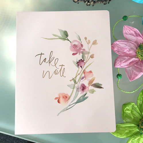 Take Note Notebook Stationery Gift Shop Hinckley