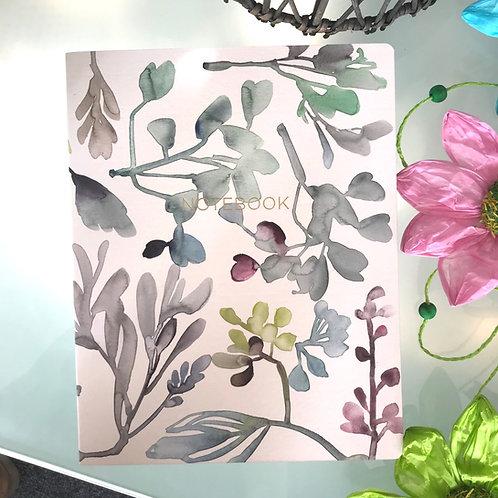 Floral Garland Notebook Stationery Gift Shop Hinckley