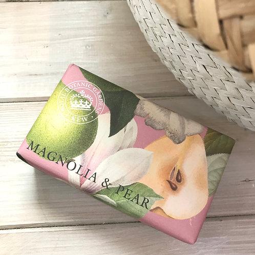 Magnolia and Pear Kew Gardens Soap